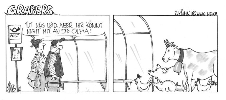 Cartoon Olma Grabers