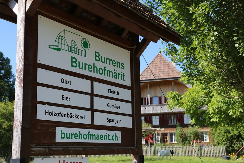 Burrens Burehofmärit in Liebewil